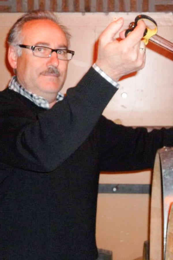 Aurelio Feo, viticultor del Bierzo