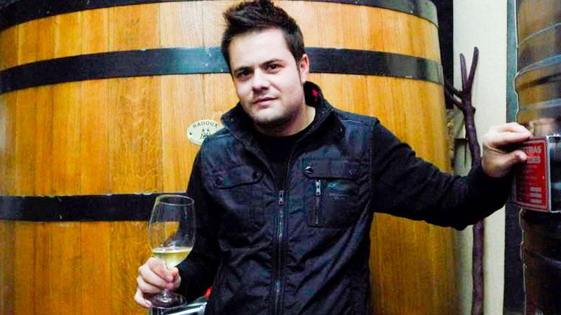 Jose Antonio García, Viticultor del Bierzo