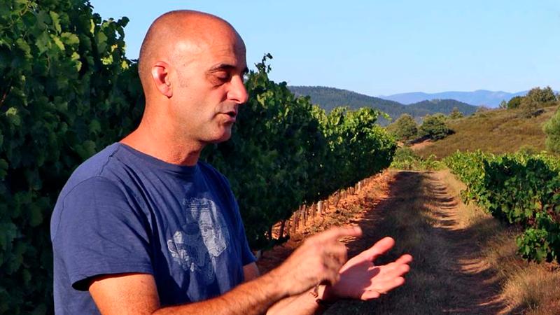 Mas Asturias, Jose Mas, enólogo de MAs aAsturias bodega del Bierzo
