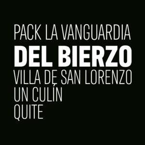 Pack la Vanguardia del Bierzo, Con Villa de San Lorenzo, Un Culín de Jose Antonio García Viticultor y Quite de Verónica Ortega